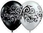 WHITE HEART 36 Latex Balloons WEDDING PROM VALENTINE SHOWER BABY FREE