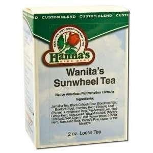 Kroeger Herbs Hannas Special Teas   Wanitas Sunwheel Tea