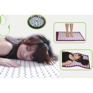 Epulse Acupressure Mat Red Orange Green Blue Purple