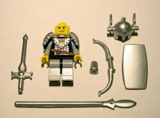 Lego Castle Dragon Knight Minifig Set Helmet & Weapons