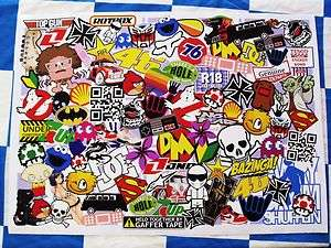 Wide JDM Drift Style Vinyl Sticker Bombing Sheet Decal Sticker Bomb L