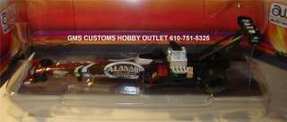 Auto World 4 GEAR Slot Car TOP FUEL DRAGSTER #38 LARRY DIXON NHRA AL