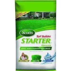 The Scotts Co. 21701 Turf Builder Starter Fertilizer Home