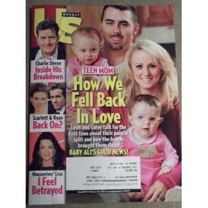 #835 February 14, 2011 Teen Mom Charlie Sheen Scarlett & Ryan Books