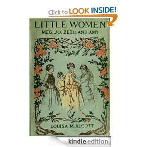 Little Women [Illustrated]: Louisa May Alcott:  Kindle