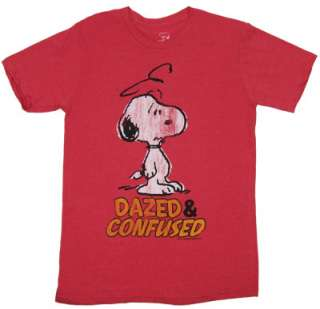 Dazed and Confused   Snoopy   Peanuts Sheer T shirt