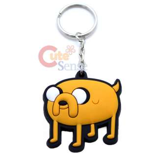 Adventure Time Finn & Jake Rubber Key Chain  Jake