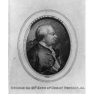 George III,King of Great Britain,1738 1820,W. Walker