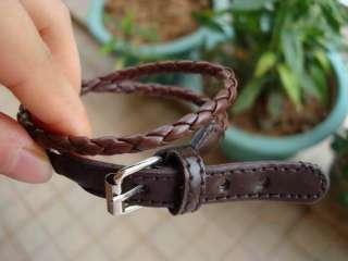 1pc R076B Fashion Flower leather buckle Belt series Bracelet