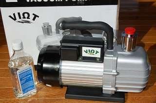 Rotary Vane Vacuum Pump Continuous Duty 5.5CFM HVAC