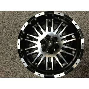 18 INCH INCUBUS BLACK & MACHINED WHEELS,RIMS, 6x135, FORD F150 LIMITED