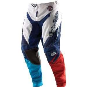 GP Air Stinger Mens Off Road Motorcycle Pants   White/Blue / Sz. 36
