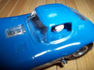 Vintage Strombecker 132 Slot Car From Road America Racing Set Blue