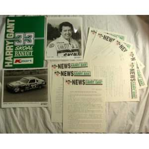 Gant, Skoal Bandit 1984 Nascar Press Kit Nascar; Skoal; K Mart Books