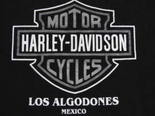 vtg HARLEY DAVIDSON t shirt LOS ALGODONES, MEXICO L