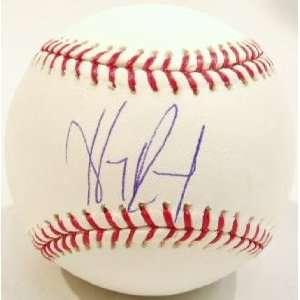 Hanley Ramirez Signed Rawlings MLB Baseball Sports