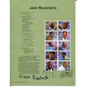 Dave Brubeck Jazz Big Band Pianist HOF Great Signed