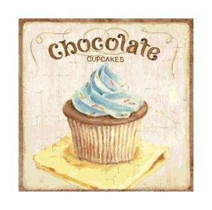 Chocolate Cupcake Altered Art Cross Stitch Pattern