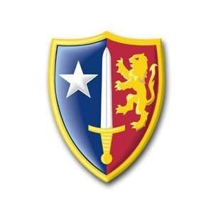 United States Army Allied Command Europe Patch Decal