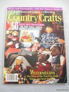1991 by Better Homes & Garden ~ Folk Art, Buttons etc
