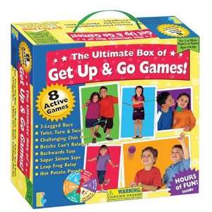 the ultimate box of get up & go games Toys & Games