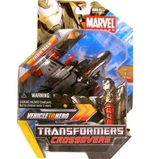 Marvel Transformers Crossovers   Iron Man (black) by Hasbro