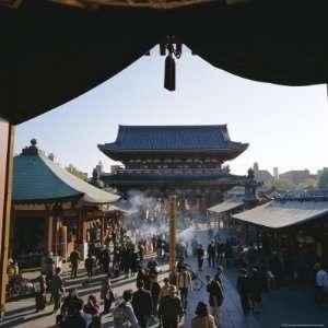 Hozo Mon Gate, Asakusa Kannon (Senso Ji) Temple, Asakura