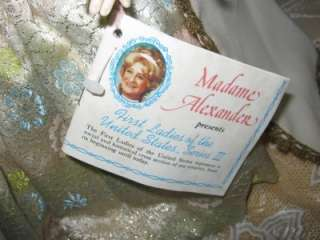 MADAME ALEXANDER 1ST LADY MARTHA JOHNSON PATTERSON 13