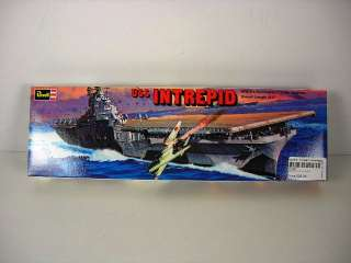 Revell 1/720 USS Intrepid WWII Aircraft Carrier for Stevens