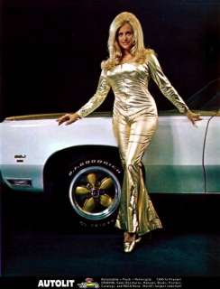 1971 Pontiac Grand Prix SSJ Hurst Linda Vaughn Photo
