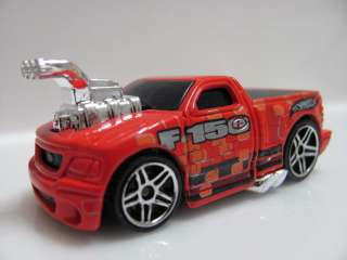 HOT WHEELS FORD F 150 LIGHTING RED LOOSE