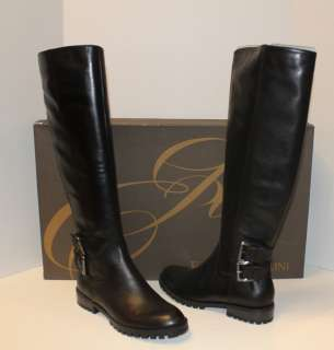Enzo Angiolini Skat black leather boots New in Box