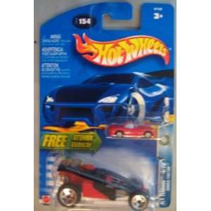 Hot Wheels 2003 Alt Terrain Shock Factor RED Atomix: Toys & Games