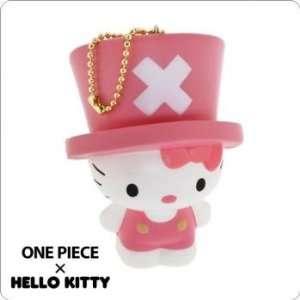One Piece x Hello Kitty Squishy Soft Ball Chain (Hello