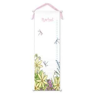 Dragonfly Growth Chart Home Decor Baby