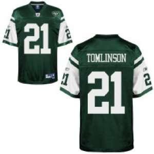 Ladainian Tomlinson New York Jets Green Reebok Premier
