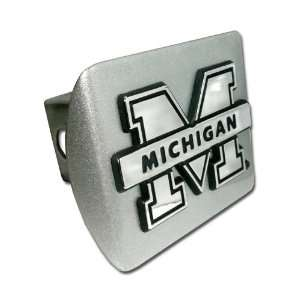 University of Michigan Wolverines Brushed Silver with