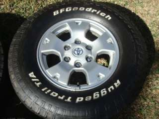 16 Toyota OEM Tacoma TRD 4Runner Sequoia Wheels Rims BFGoodrich Tires