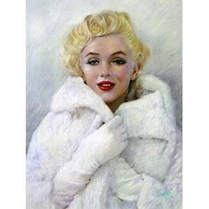 com Marilyn Monroe Sketch Portrait, Charcoal Graphite Pencil Drawing