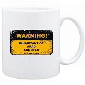 New  Warning  Inhabitant Of Arad Annoyed  Romania Mug
