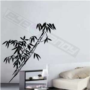 Bamboo Wall Art Decal Sticker Words Quotes Decor Tree