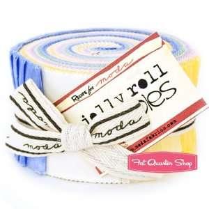 Pastel Moda Marble Jelly Roll   Moda Fabrics Arts, Crafts