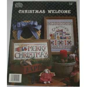 Welcome (Cross Stitch, Jeremiah Junction, Inc., JL103): Books