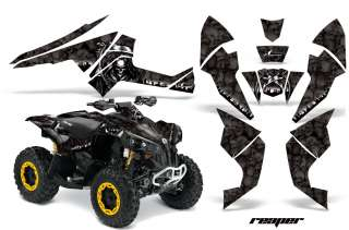 AMR RACING BRP ATV GRAPHIC KIT OFF ROAD QUAD DECAL WRAP CANAM RENEGADE
