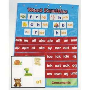 Word Families Pocket Chart   Teacher Resources & Flip
