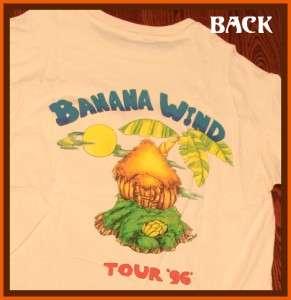Jimmy Buffett 1996 Banana Wind Rock Concert Tour T Shirt XL