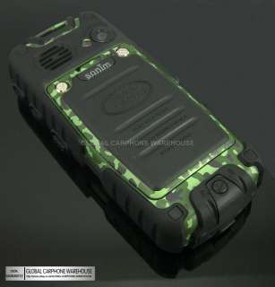 New Quadband Camouflage LAND ROVER MILITARY Water Dust Proof Mobile
