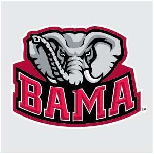 ALABAMA CRIMSON TIDE BAMA Logo vinyl decal 4 car truck