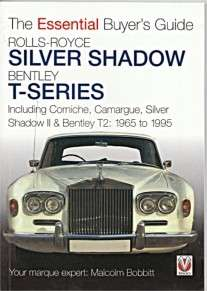 ROLLS ROYCE SILVER SHADOW BENTLEY T SERIES 1965  1995