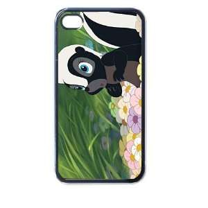 Bamby Flower Skunk 4/4s Seamless Case (Black) Electronics